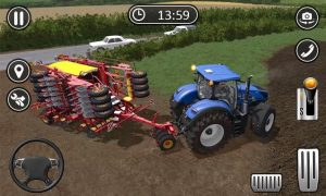 Farming Games with Tractors