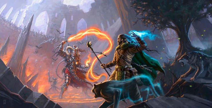 WoW Warlock vs Mage